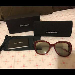 Dolce and Gabbana cherry sunglasses